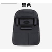 车后挂整理袋汽车皮款座椅靠背置物袋水杯椅多功能整齐挂式椅背收纳袋