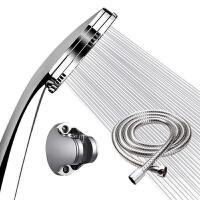 喷头 淋浴喷头家用洗澡间浴把手持花洒可拆卸清洗热水器通用加。