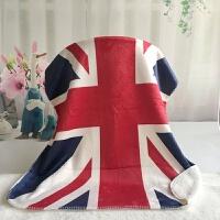 英国米字旗羊羔绒双层宠物小毛毯 宝宝婴儿办公室空调沙发膝盖毯 米字旗 80x100cm