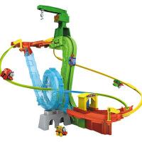 抖音托马斯小火车套装玩具同款电动轨道车儿童玩具益智男孩5-6岁