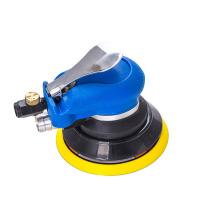 ()气动打磨机 5寸工业级吸尘汽车清洗打蜡抛光机砂纸打磨干磨气磨
