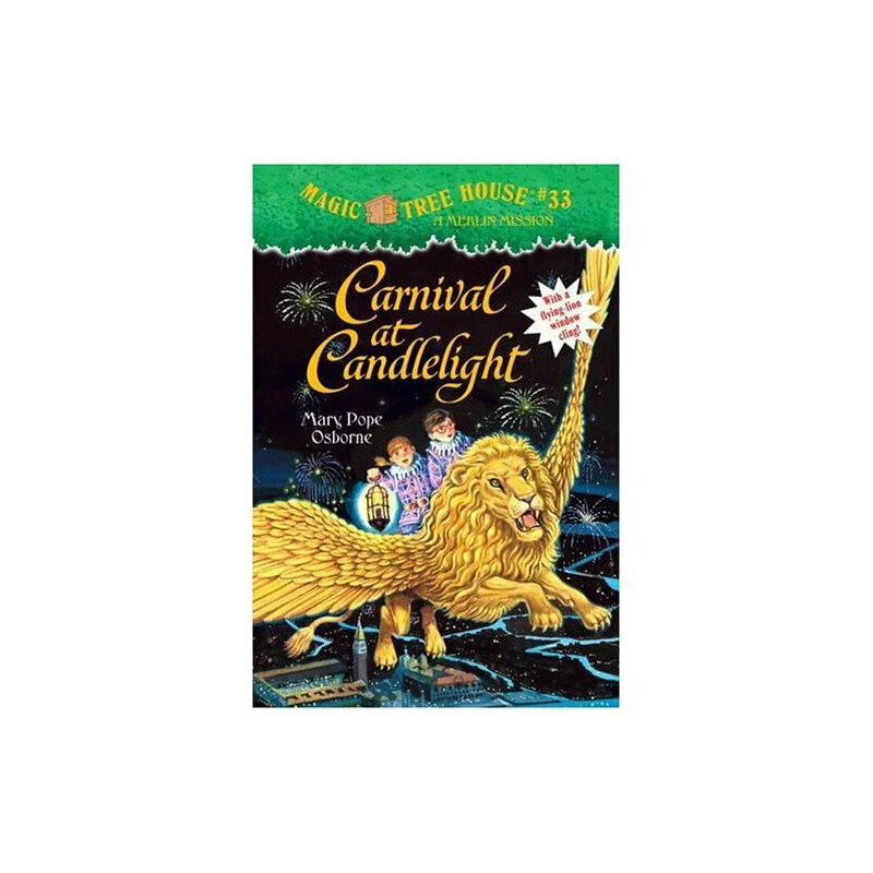 Magic Tree House #33: Carnival at Candlelight 神奇树屋系列33:烛光嘉年华 9780375830341