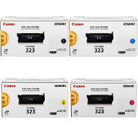 佳能原装正品 CRG-323硒鼓 323墨粉盒 BK黑色 C青色 M品红色 Y黄色 佳能Canon LBP7750Cd