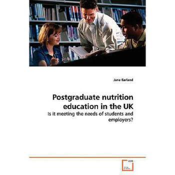【预订】Postgraduate Nutrition Education in the UK 美国库房发货,通常付款后3-5周到货!
