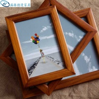 a4玻璃相框木质相框照片摆台挂墙新款相框两用展示证件影楼新版面板摆放