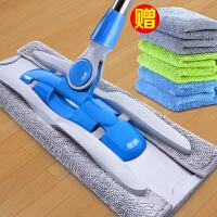 免手洗懒人平板拖把干湿两用旋转拖布家用木地板瓷砖地墩布