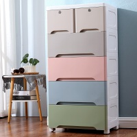 加厚特大号塑料收纳箱盒抽屉式整理箱儿童衣服储物箱收纳柜子