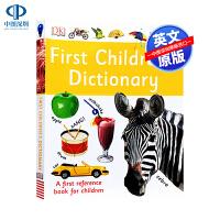 英文原版 DK儿童英英图解字典词典 First Children's Dictionary 少儿英语单词记忆提升学习进阶
