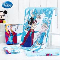 迪士尼(Disney)毛巾家纺 冰雪奇缘炫彩生活3件套 毛巾/浴巾礼盒装套装 男女宝宝 儿童毛巾/婴儿浴巾/方巾