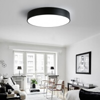 北欧灯具卧室led吸顶灯现代简约创意卧室灯书房餐厅圆形灯具