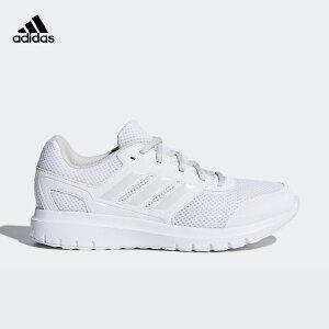 adidas阿迪达斯女子网面透气运动轻便小白鞋跑步鞋B75587