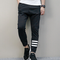 Adidas阿迪达斯 男裤 NEO运动休闲透气耐磨长裤 BR8514