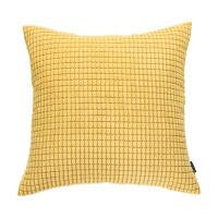 北欧抱枕简约现代沙发靠垫床上绒靠枕汽车靠背垫方枕套玉米粒