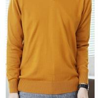 秋冬韩版羊绒衫男v领圆领加厚羊毛衫纯色高领毛衣大码打底针织衫