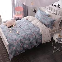 纯棉床上三件套单人宿舍床单被套枕套学校学生大学1.2m床被罩1米2