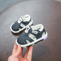 夏季小宝宝鞋婴儿防滑软底学步鞋包头凉鞋男女童鞋婴幼儿