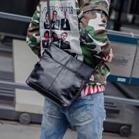 休闲男包青年小包单肩包 简约户外出行ipad斜跨包 运动后背挎包潮