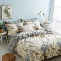 全棉四件套纯棉床品套件被套床单三件套1.5米1.8m床上用品