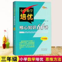 新版 68所名校图书 三年级小学数学培优核心知识66讲知识大全小学