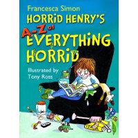 Horry Henry's A-Z of Everything 淘气包亨利百科-无所不知 ISBN 978144400