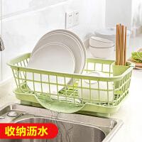塑料碗碟置物架厨房用品放碗架水槽沥水架餐具碗筷收纳盒架子碗柜