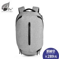 cai多功能运动背包旅行潮流双肩包休闲户外摄影机包13.3寸电脑包