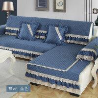 沙发垫布艺现代简约沙发套沙发罩全盖沙发巾防滑坐垫四季通用