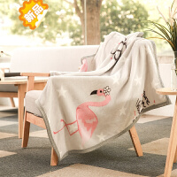 ins婴儿小毯子办公室午睡毯单人儿童盖腿小毛毯午休小被子便携女