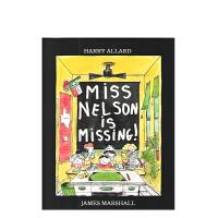 进口原版 Miss Nelson Is Missing! 尼尔森小姐不见了
