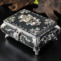 欧式复古收纳盒手工饰品公主首饰盒珠宝盒戒指盒