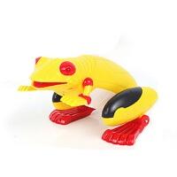 遥控青蛙玩具电动物模型仿真蛤蟆蛙子会跳儿童整蛊新创意男孩玩具 官方标配