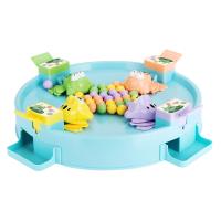 3-6岁男女玩具青蛙吃豆玩具儿童趣味亲子互动桌面游戏