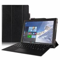 联想MIIX520保护套PC二合一平板12英寸电脑壳键盘皮套支撑套 黑色送膜