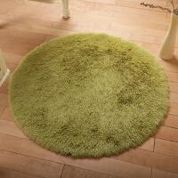 20200111114045112瑜伽垫床边素色脚垫圆形地毯一米直径可爱园毛绒钢琴躺椅电脑椅10