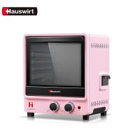 Hauswirt/海氏HY10�烤箱家用小型迷你早餐蒸汽烤箱一�w�C多功能烘焙全自�� 蒸汽嫩烤 ��X�饶� 小�C身大容量