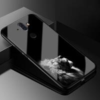 诺基亚8sirocco手机玻璃壳Nokia 8 Sirocco保护套TA-1042软硅胶卡通个性全包