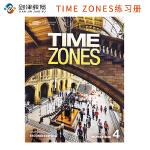原版进口 TIME ZONES Second Edtion 4级别练习册 美国国家地理学习青少英语综合课程