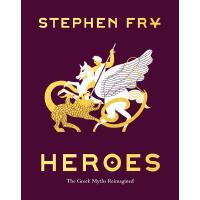英文原版 英雄重述希腊神话 精装插图版艺术书 Heroes: The Greek Myths Reimagined 神话