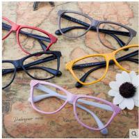 清新时尚眼镜户外眼镜男女日韩系框架眼镜彩色眼镜架装饰镜