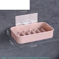 创意置物架壁挂卫生间皂托洗漱台架浴室吸盘肥皂盒双层香皂盒沥水