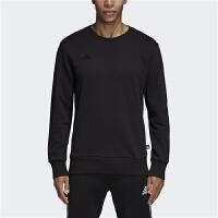 adidas阿迪达斯创造者 串标黑色 TAN Crew 足球针织套头衫运动卫衣DJ1503