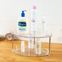 【支持礼品卡包邮】日本爱尚佳品转角卫生间收纳架浴室厨房置物架塑料D3010