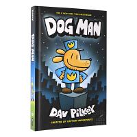 英文原版童书 Dog Man 神探狗狗的冒险 【内裤超人队长作家Dav Pilkey 漫画桥梁书】