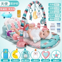 婴儿礼盒套装春夏新生儿用品满月礼物刚出生初生男女宝宝玩具* +双充电 成长型婴儿礼盒适合0-3岁