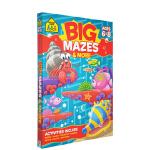 【6-8岁迷宫练习】School Zone Big Mazes Activity Book 儿童迷宫全彩描绘活动练习册