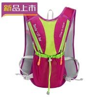 2018户外超轻骑行背包双肩运动包男女越野跑步背包半马拉松水袋水壶包