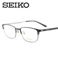 精工纯钛眼镜架 商务近视眼镜框男款配全框眼睛HC-1017