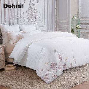 多喜爱新品全棉面料大提花冬被床上用品被芯被子蝶恋花提花绣花被
