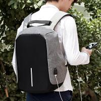 新款双肩背包韩版城市休闲包学生书包电脑包充电旅行书包