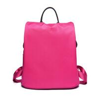 小背包包包女尼龙双肩包女包 2018新款韩版潮流简约百搭防水牛津帆布休闲旅行背包纯色女士包包
